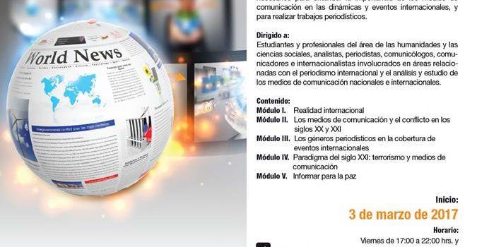 Diplomado en el Periodismo en las Relaciones Internacionales