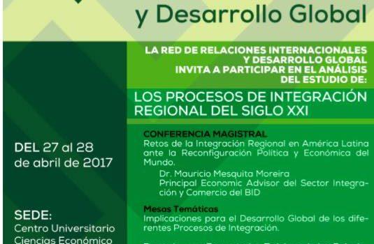 V Jornada Internacional en Relaciones Internacionales y Desarrollo Global